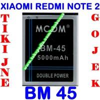 Jual Baterai Xiaomi Redmi Note 2 BM45 MCOM Batrai Batre Battery Batere Murah