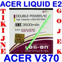 Baterai Acer Liquid E2 V370 Log On Batrai Batre Battery Batere