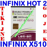harga Baterai Infinix Hot 2 X510 Log On Batrai Batre Battery Batere Tokopedia.com