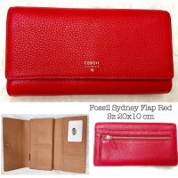 Fossil Sydney Flap Red