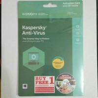 Kaspersky Antivirus Anti Virus 1 User Resmi Free 1 User 2018