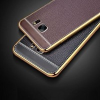 CASING HP TPU LEATHER METAL BUMPER CASE SAMSUNG GALAXY GRAND PRIME