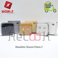 Handsfree Xiaomi Piston 3 Oem Earphone / Headset