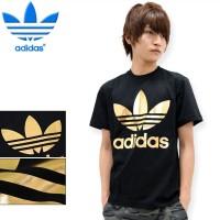 Jual Kaos Adidas GOLD _ Classic Logo PREMIUM / Kaos Tumblr / Kaos Sporty Murah