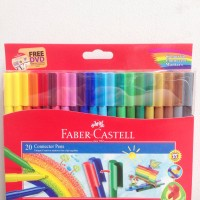 Spidol Faber-Castell 20 Connector Pens