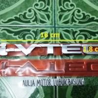 emblem original honda ivtec i-vtec mobilio brio all new jazz crv 16