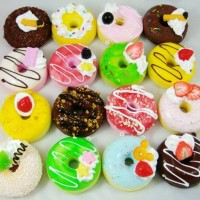 Cetakan Cutter Donat Kue Kering ala Jco Dunkin Satuan Love Bulat Bunga