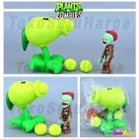 Mainan Anak Plant vs Zombie Tembak Plants Zombies Pea Shooter