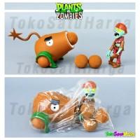 Mainan Anak Plant vs Zombie Tembak Plants Zombies Coconut Canon