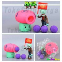 Mainan Anak Plant vs Zombie Tembak Plants Zombies Fume Shroom