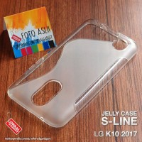 CASING HP SOFT JELY LG K10 2017 SILIKON SOFT COVER