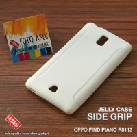 CASING HP OPPO FIND PIANO R8113 SOFT JELLY SILIKON TPU SOFT