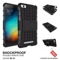 CASING HP XIAOMI MI4C MI 4C RUGG ANTI SHOCK ARMOR HARD SOFT