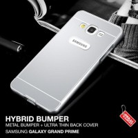 CASING HP SAMSUNG GALAXY GRAND PRIME VE ALUMINIUM BUMPER THIN BACK