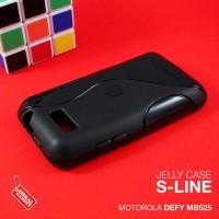 CASING HP SOFT JELLY SILIKON TPU MOTOROLA DEFY MB525 HITAM
