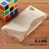 CASING HP SONY XPERIA Z5 COMPACT SOFT JELLY SILIKON SOFT