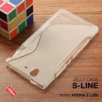 CASING HP SONY XPERIA Z Z1 SOFT JELLY SILIKON TPU SOFT