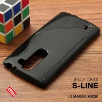 CASING HP LG MAGNA H502F SOFT JELLY SILIKON TPU SOFT HITAM
