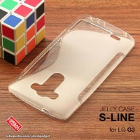CASING HP LG G3 D855 D850 SOFT JELLY SILIKON SOFT CLEAR