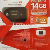 Jual Mifi Modem Wifi Router 4G Huawei E5577 Telkomsel Unlock Free 14Gb Murah