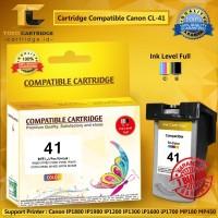 Catridge Canon CL41 Color PLUS CHIP RESET Katrid Canon CL 41 CL-41