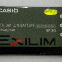 Casio NP-20 Lithium Ion Rechargeable Battery for the Casio Digital