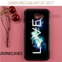 Casing Samsung A7 2017 Love Spell Hard Case Custom