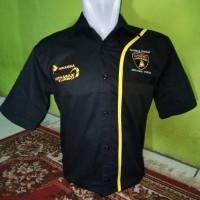 seragam pertamax turbo hitam - makmur online shop