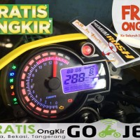 Digital Speedometer LCD RPM Tacho (Model Like) KOSO RX2N+ Universal