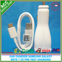 ORIGINAL 100% Charger Samsung Galaxy Note 7 C9 Pro Fast Charging