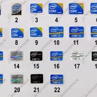 Logo Stiker / Sticker Intel NVIDIA AMD Energy Star Windows