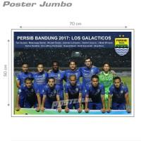 Poster Jumbo: PERSIB 2017 STARTER TEAM #FCL46 - 50 x 70 cm