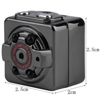Spycam Infrared Terkecil SQ8 Mini DV Camera 1080P Full HD