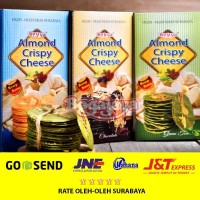 Paket almond crispy cheese 3 Pcs (Original, Green Tea & Chocolate)