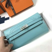 HERMES KELLY GHILLIES WALLET SWIFT LEATHER MIRROR QUALITY