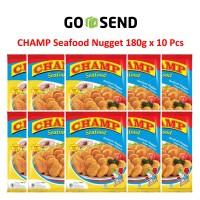 Paket Champ Seafood Nugget 180g 10 Pcs Naget Ikan Udang-Jumashop Depok