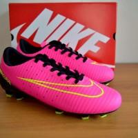 sepatu bola dewasa nike mercurial pink original premium 39-44 import