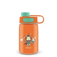 Botol minum BROS Wego 400ml orange - MAGILION