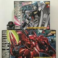 Bandai MG 1/100 MSN-04 Sazabi Ver. Metallic Coating Version