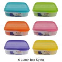 6 lunch box / tempat makan / kotak makan / Catering box - Cleo Kyoto