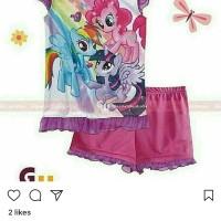 Jual piyama little pony import baju tidur anak gw Murah