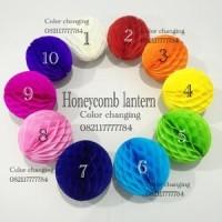 Honeycomb ball hanging lantern  /lampion sarang tawon / sarang lebah