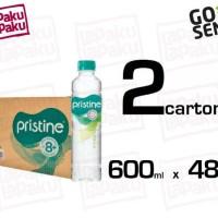 Pristine 8+ 600ml 2carton Isi 48botol Mineral Water Ionisasi