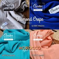 harga Jilbab Pashmina Cartier Diamond Crepe Premium Quality Tokopedia.com