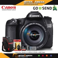 Canon Eos 70d Kit 18-200mm Is Built-In Wifi Paket