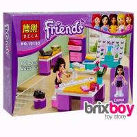 Lego Bela Friends Emma Fashion Design Studio 10133 81pcs Brixboy