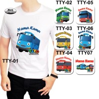 harga Baju Kaos Dewasa Tayo The Little Bus Sk Fashion Tokopedia.com