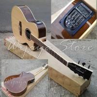 Lakewood maple LC gitar akustik elektrik