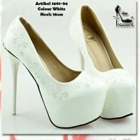High Heels Import sepatu pesta zara valentino Louboutin gucci lv