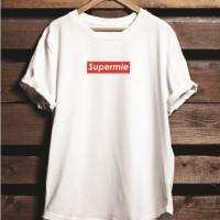 667ad8b8 Kaos Tshirt Baju Combed 30S Distro Supreme LV Supermie Grade Ori Murah